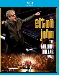 Cover Elton John - The Million Dollar Piano [DVD]